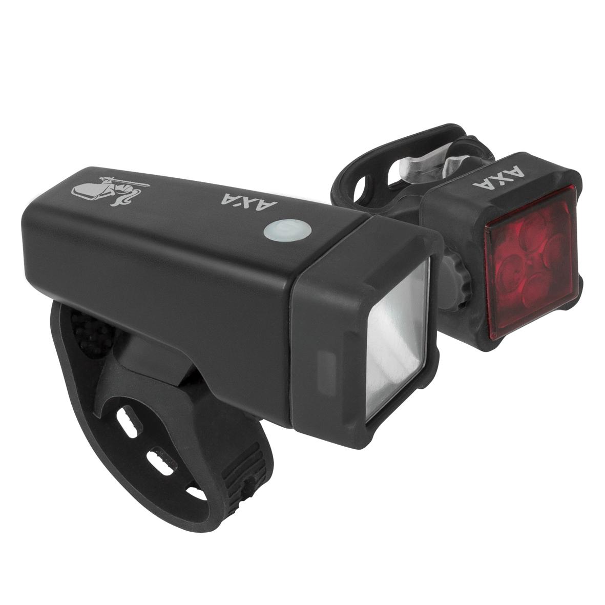 AXA NITELINE T4-R set přední a zadní LED světlo od ninex.cz