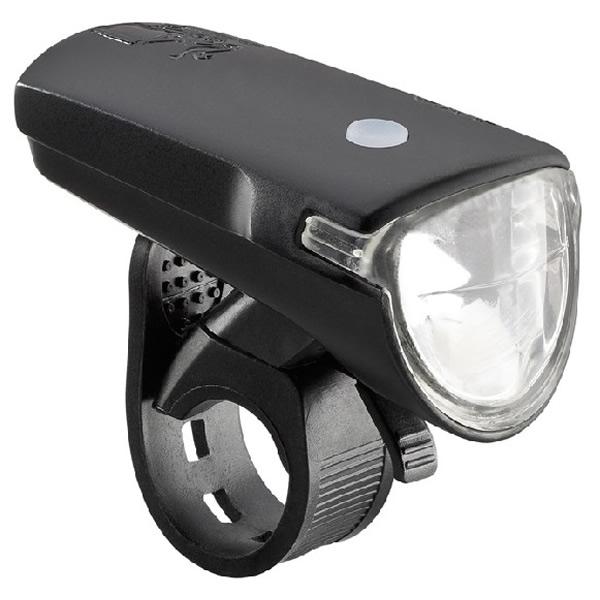 AXA GREENLINE přední světlo 35 lux / USB nabíjení / indikátor baterie / dosah 65 m