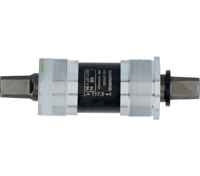 SHIMANO středové složení MTB-ostatní BB-UN300 osa 4hran 68 mm 117.5 mm bez šroubu bal