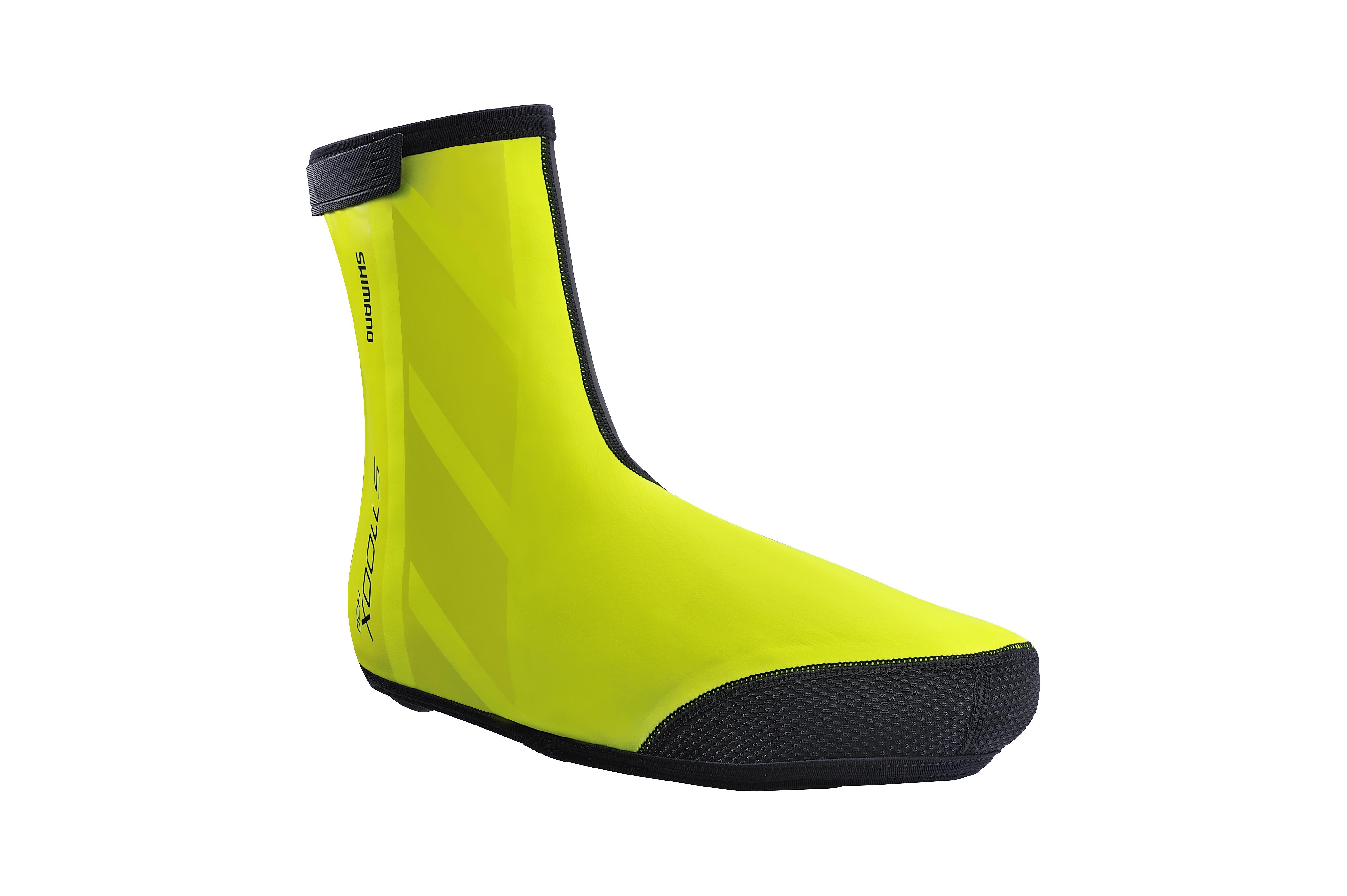 SHIMANO S1100X H2O návleky na obuv, Neon žlutá, S