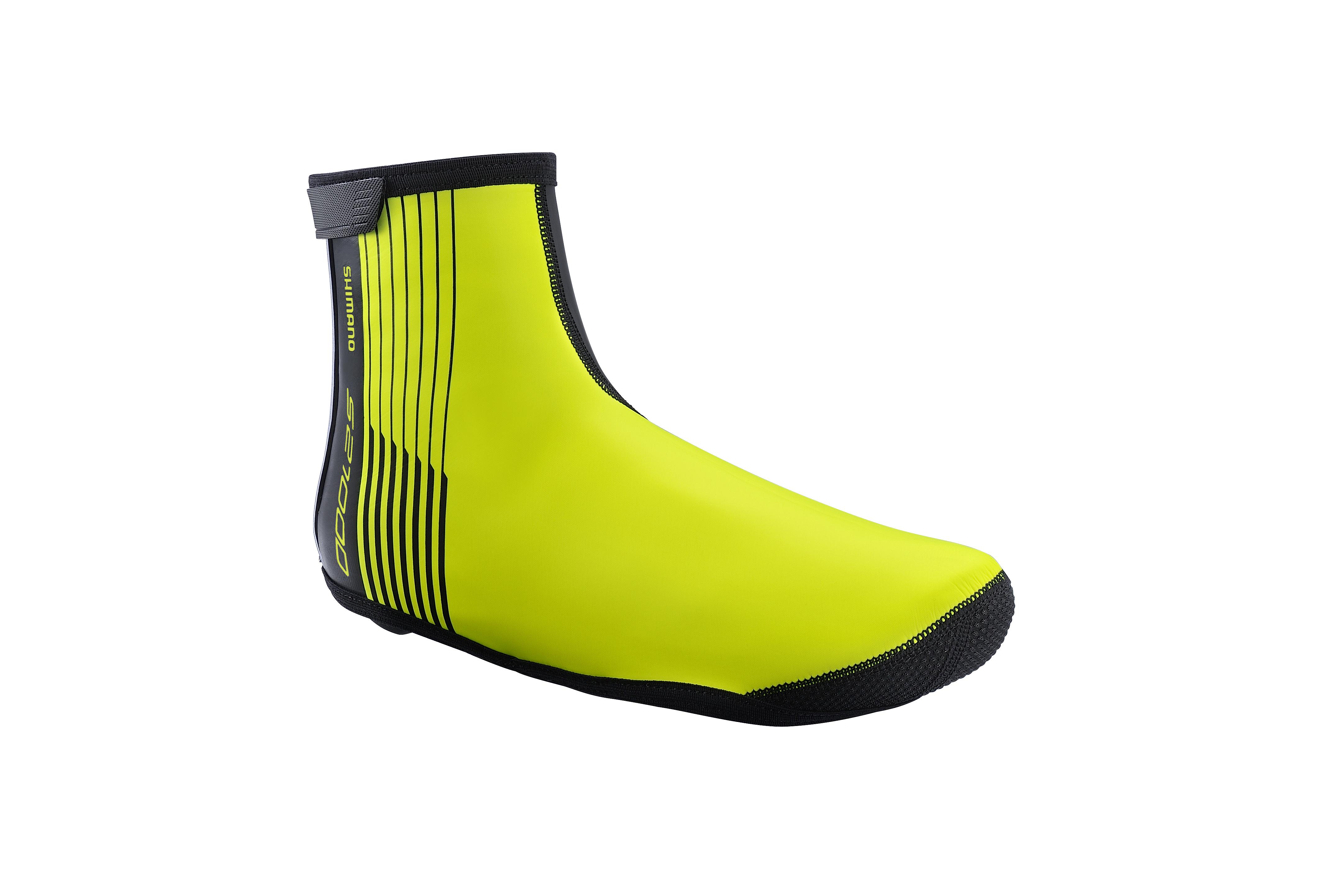SHIMANO S2100D návleky na obuv, Neon žlutá, S
