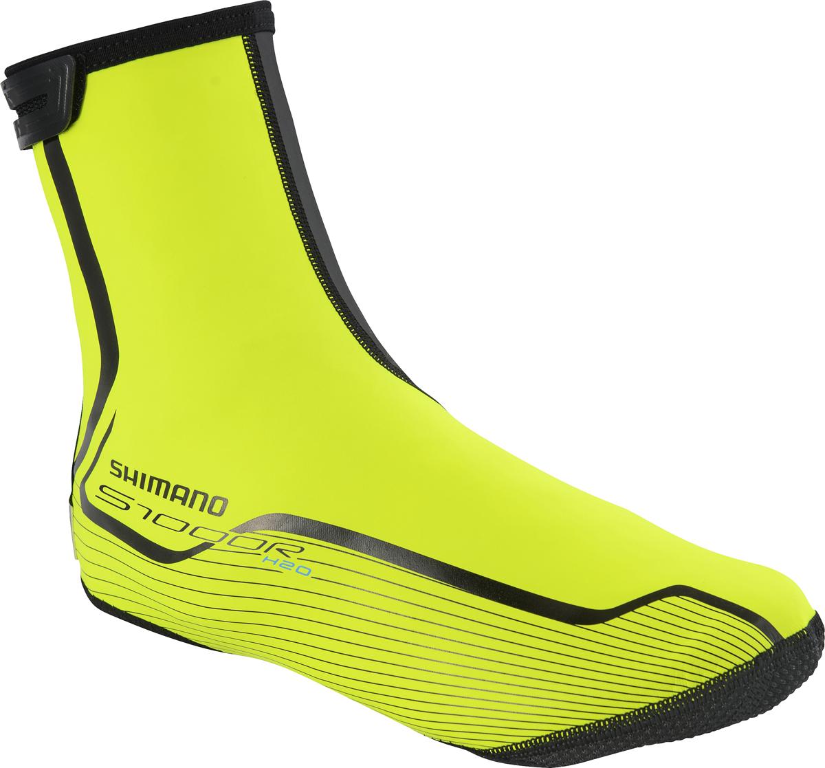 SHIMANO ROAD S1000R H2O návleky, neon žlutá, S