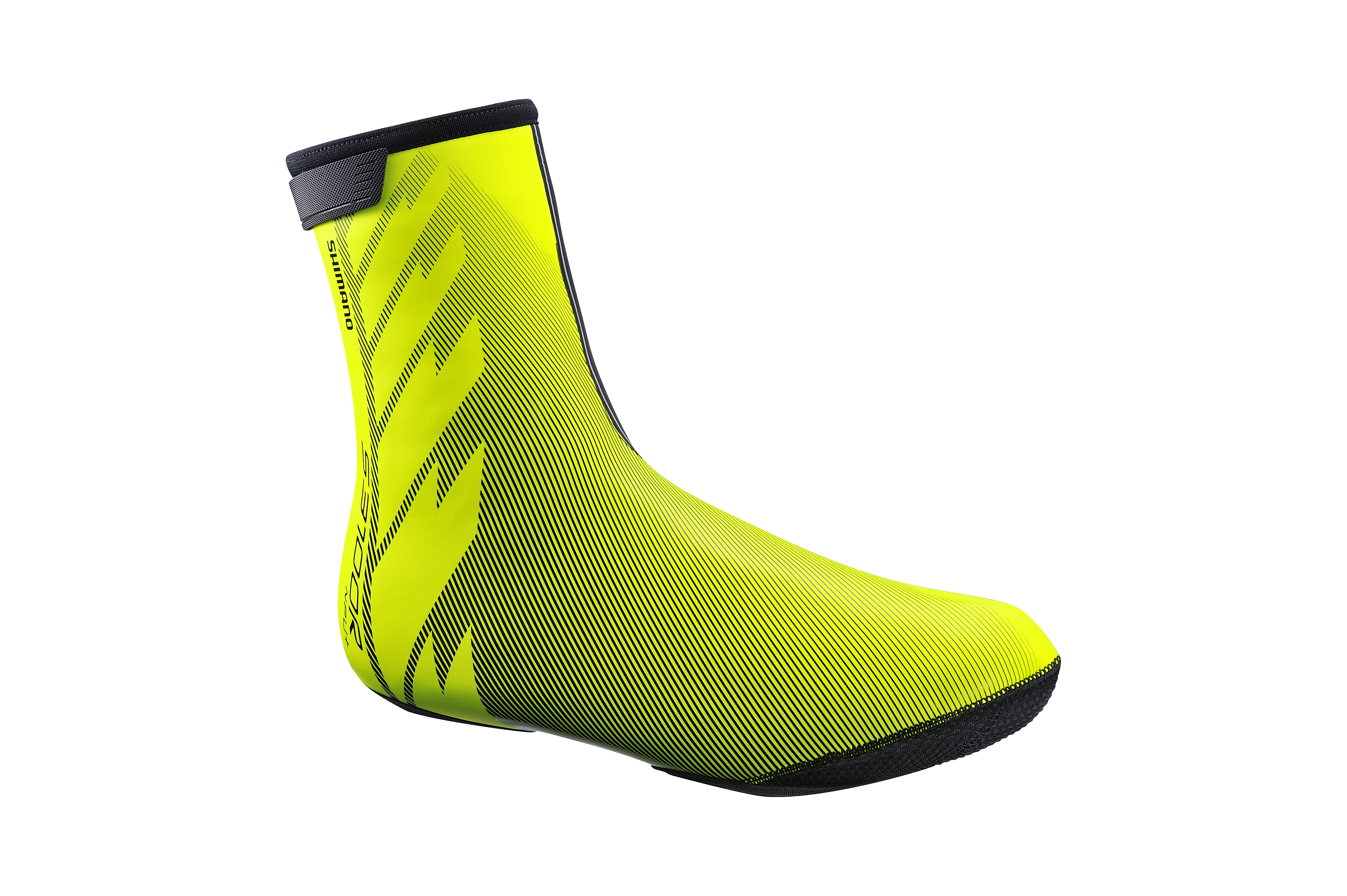 SHIMANO S3100R NPU+ návleky na obuv, Neon žlutá, S