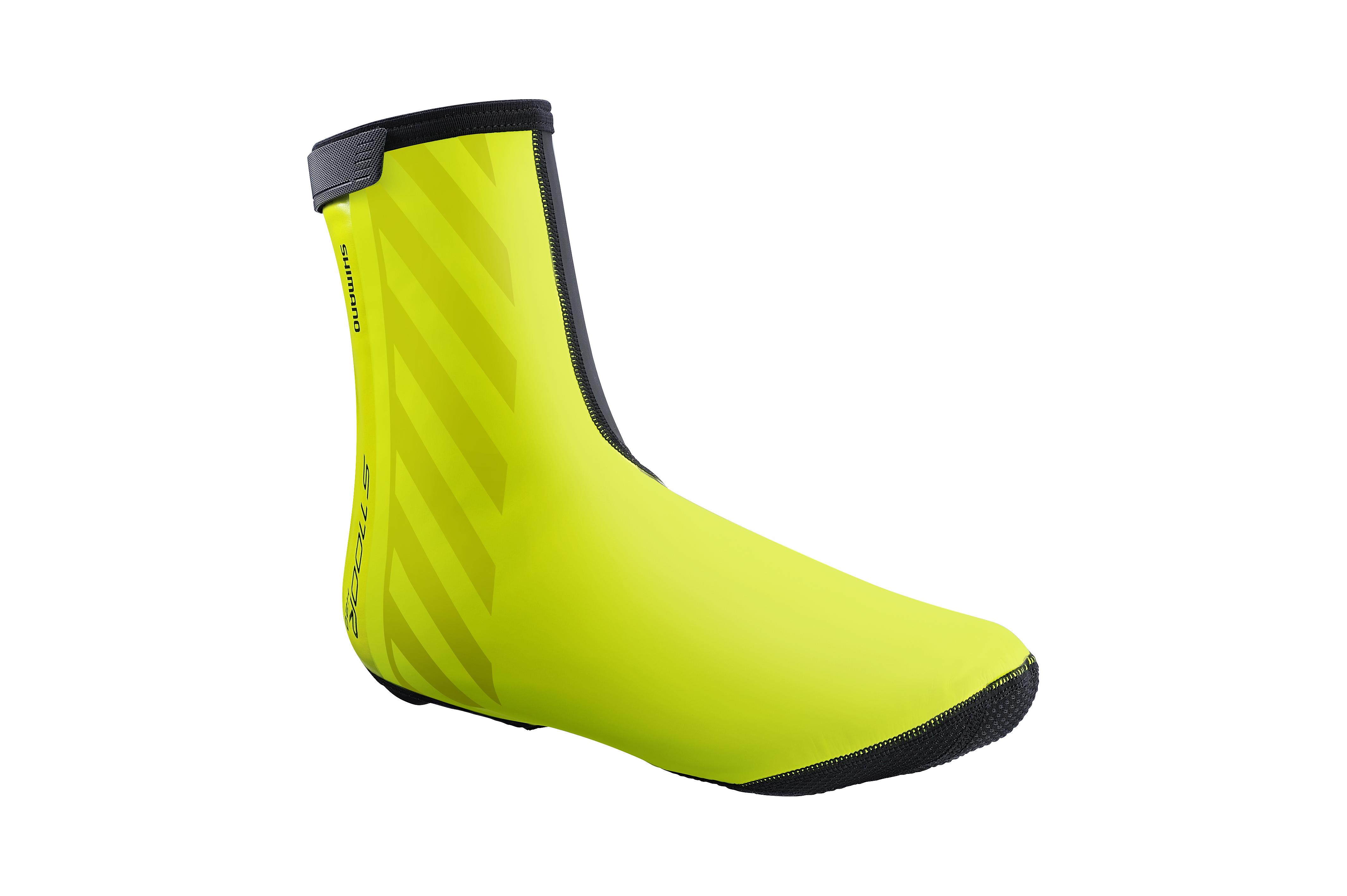 SHIMANO S1100R H2O návleky na obuv, Neon žlutá, S