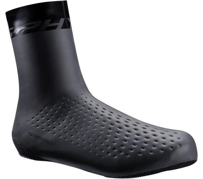 SHIMANO S-PHYRE Insulated návleky na obuv, černá, M