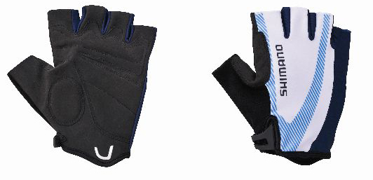 Shimano rukavice BASIC race, modrá, M