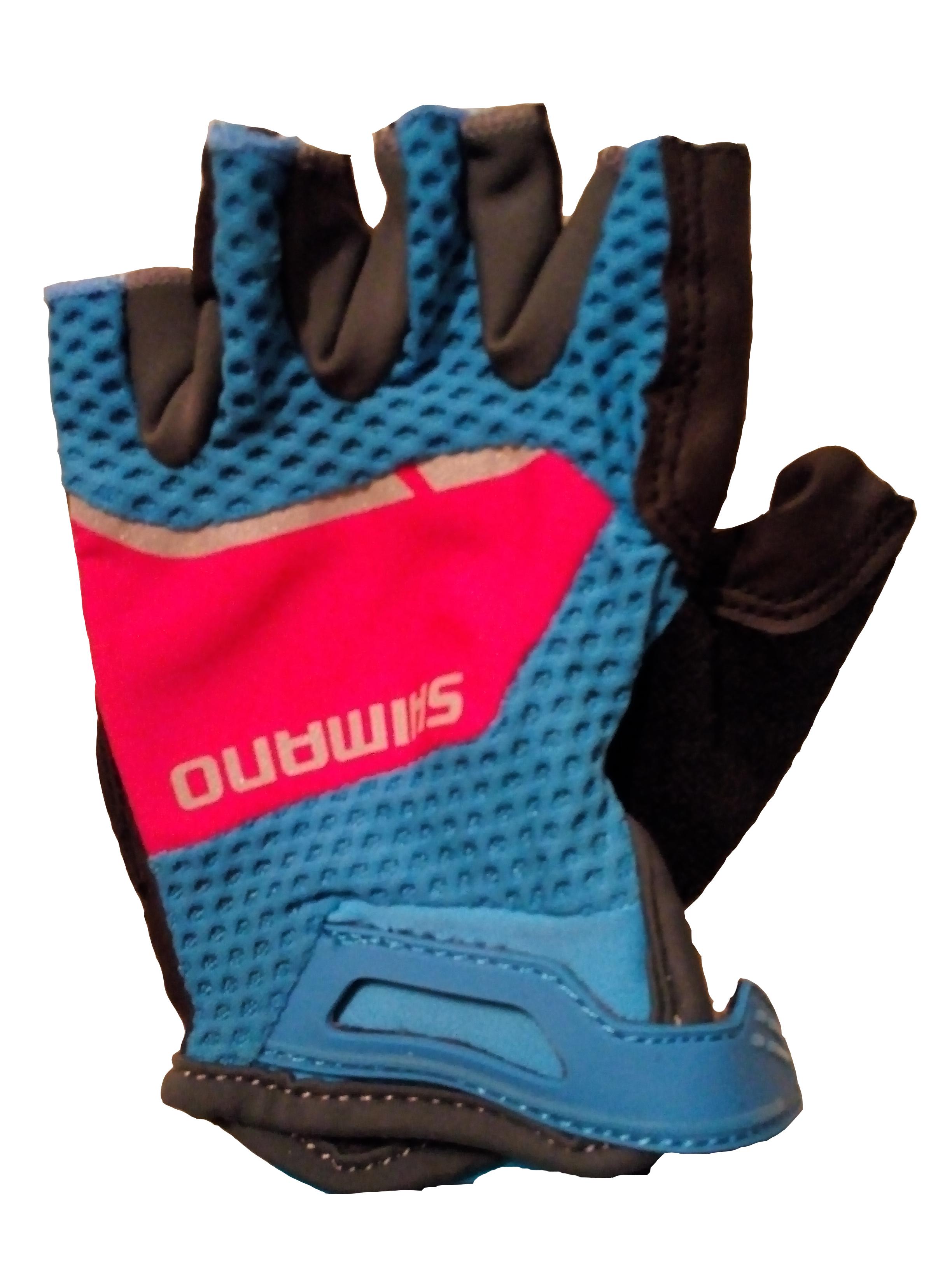 Shimano Explorer dámské rukavice, modrá/jazzberry, S