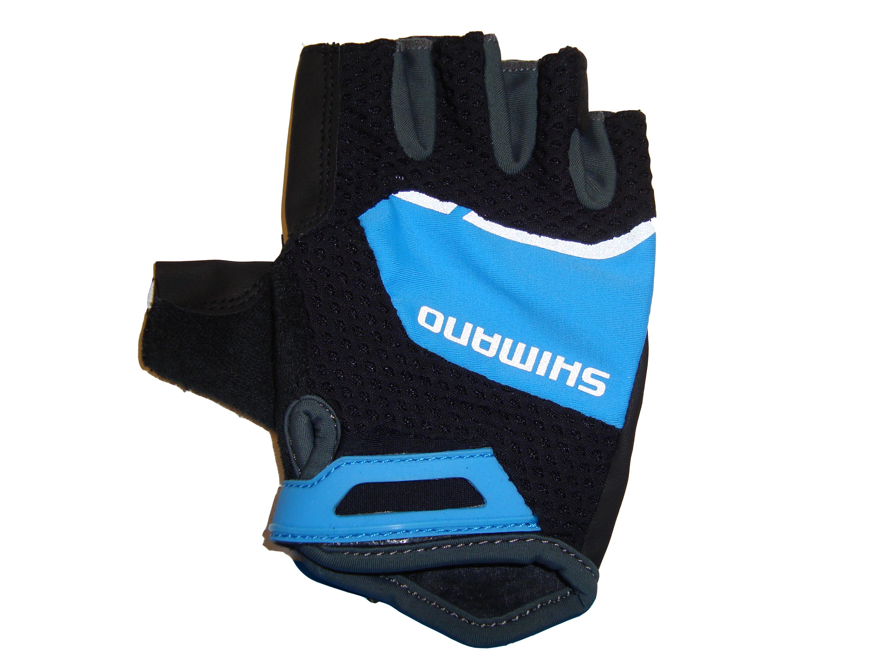 Shimano Explorer dámské rukavice, modrá, L