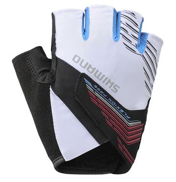 Shimano ADVANCED rukavice, bílá, L