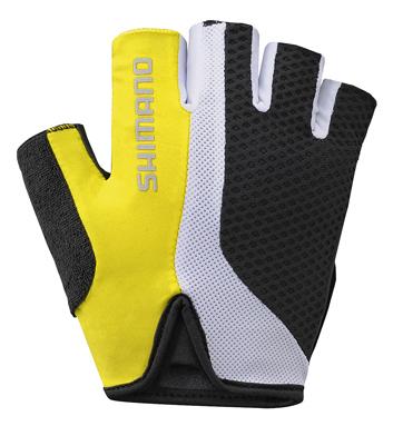 Shimano Touring rukavice, žlutá, M