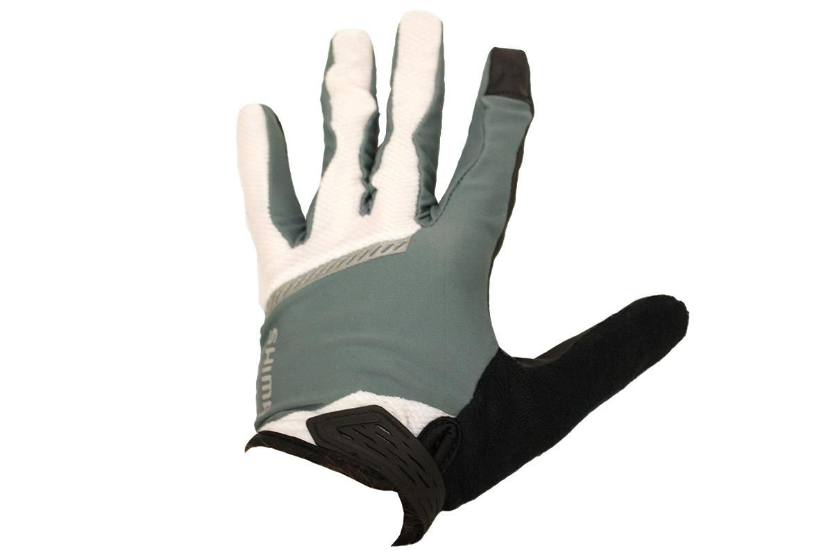 Shimano Original celoprsté rukavice, šedá, M