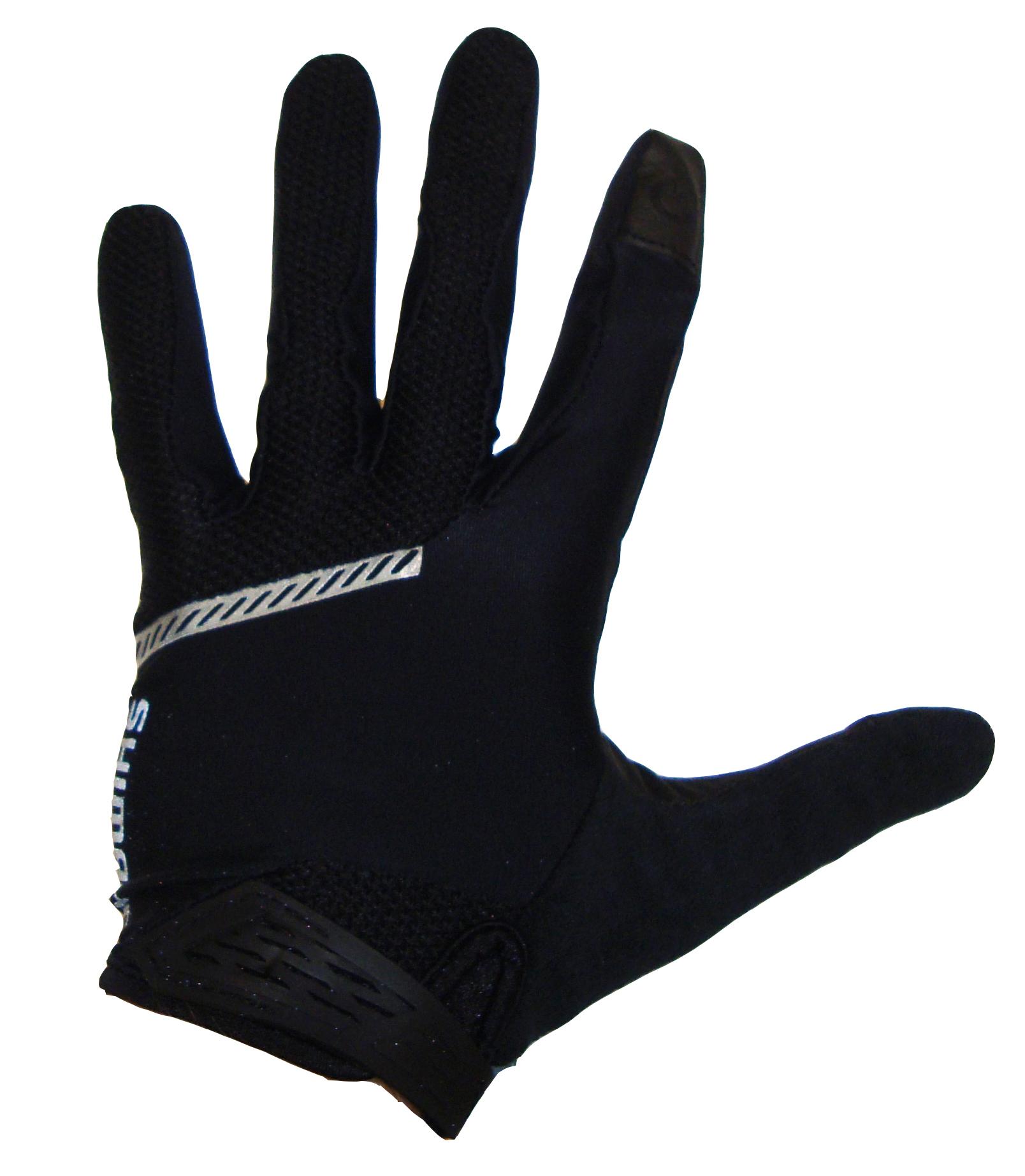 Shimano Original celoprsté rukavice, černá, S