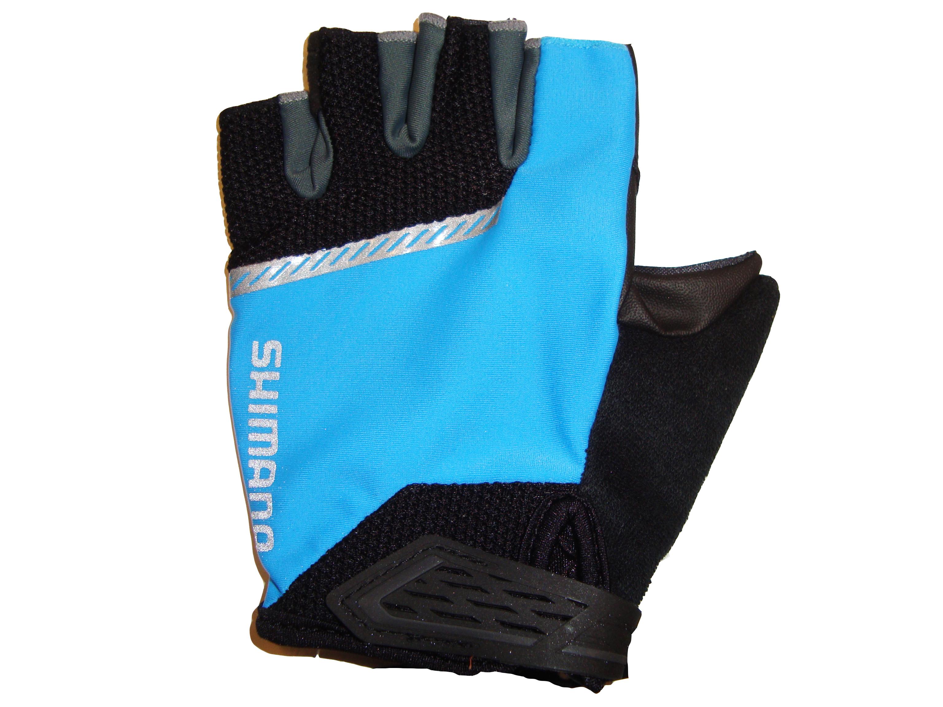 Shimano Original rukavice, černá/modrá, S