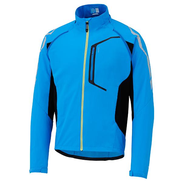 SHIMANO Hybrid bunda, lightning modrá, M