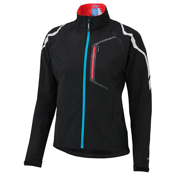SHIMANO Hybrid bunda, dámská, černá, S