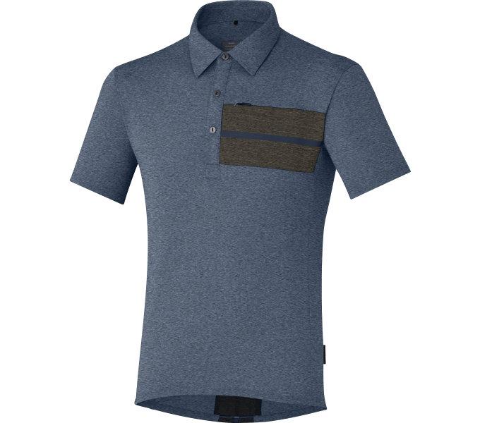 SHIMANO Transit Polo tričko, Námořní Blazer, L