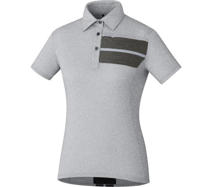 SHIMANO dámské Transit Polo tričko, Hliníková, (W's size)M