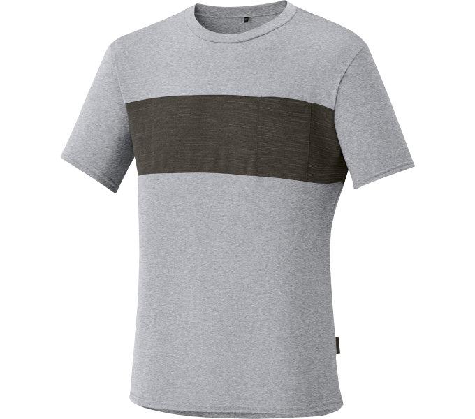 SHIMANO Transit tričko, Hliníková, S