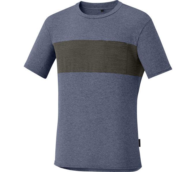 SHIMANO Transit tričko, Námořní Blazer, S