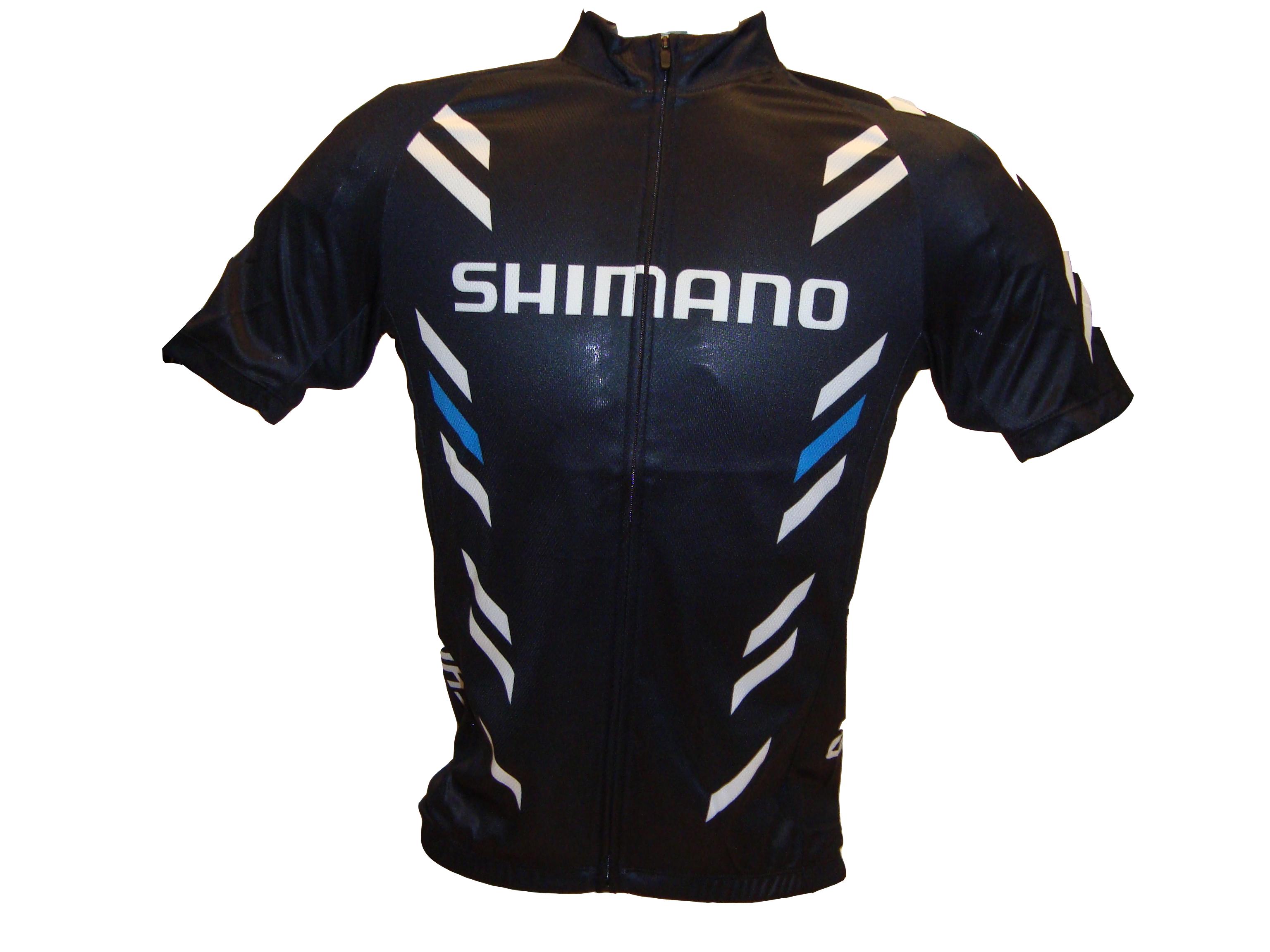 SHIMANO Print dres s krátkým rukávem, černá, S