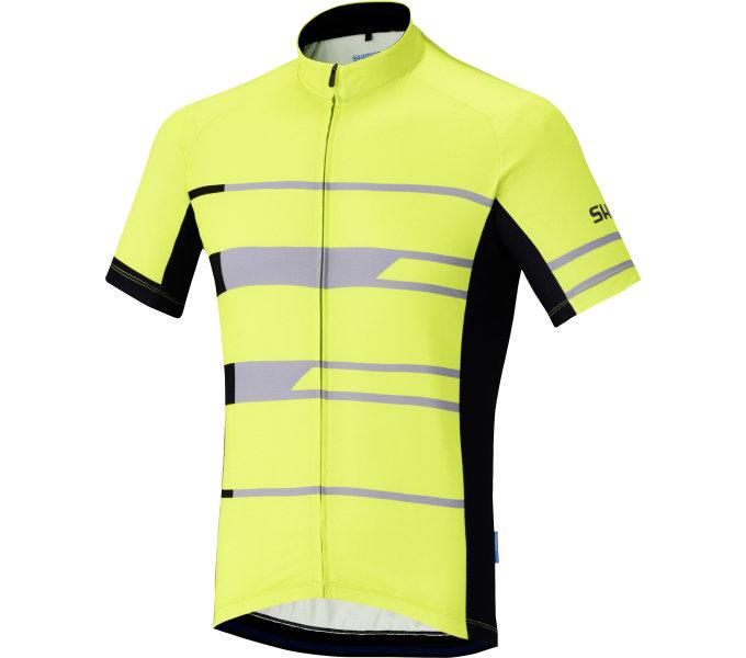 SHIMANO Shimano Team dres, Neon žlutá, S