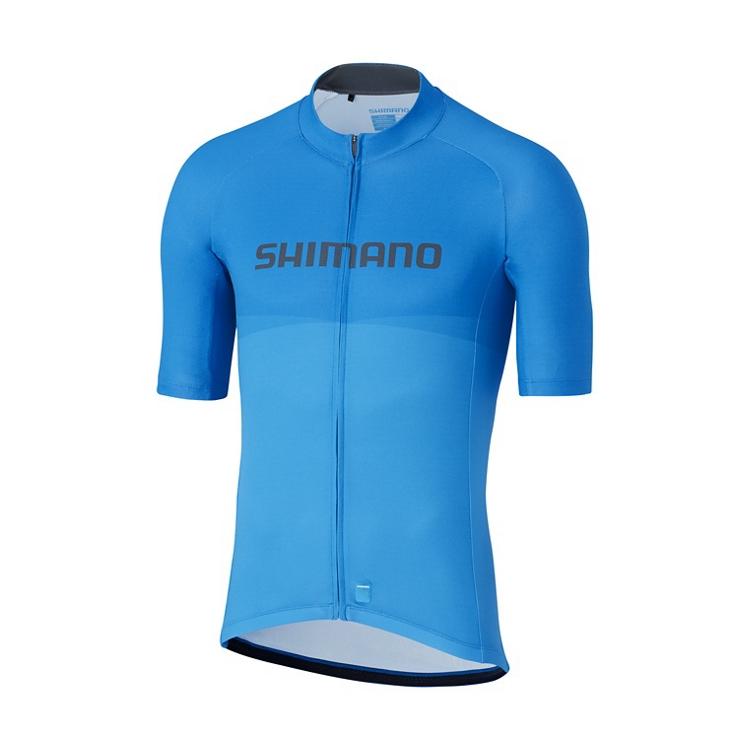 SHIMANO TEAM dres, modrý, M