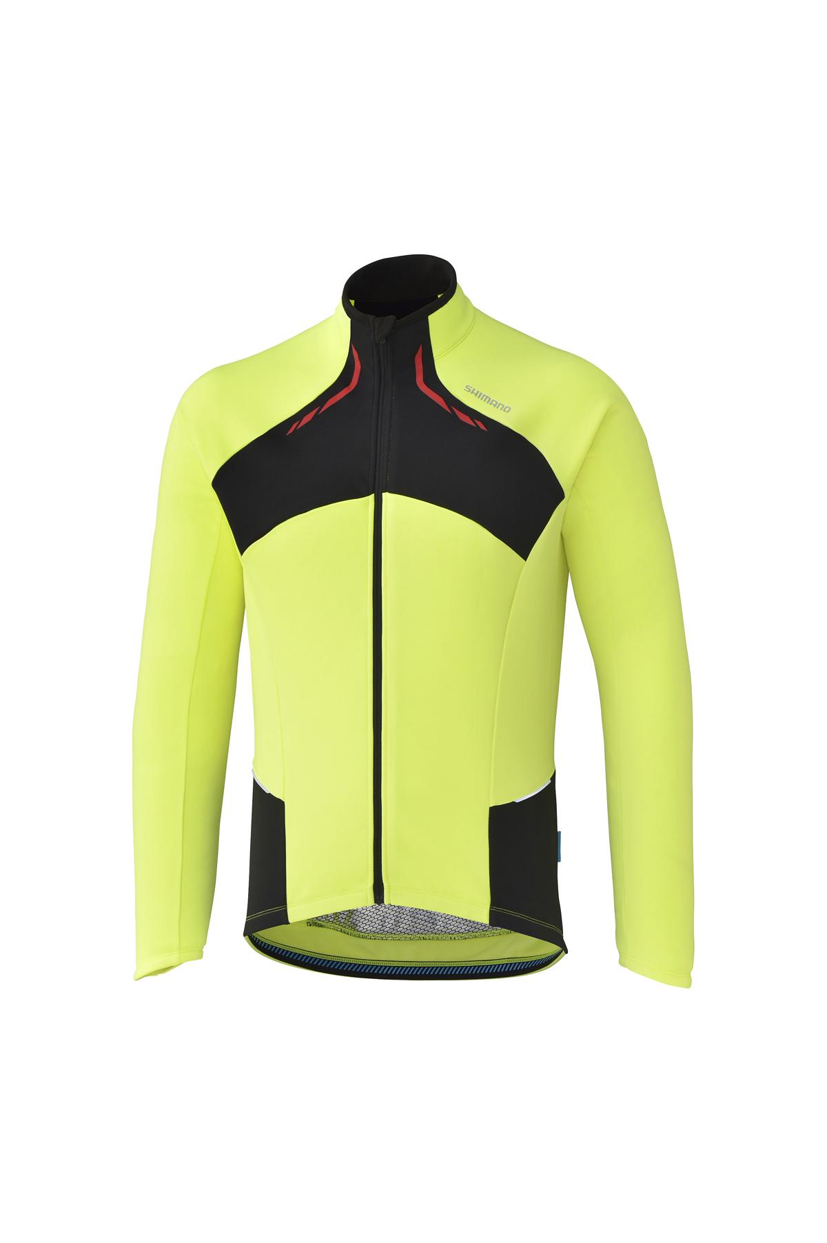 Shimano Thermal Winter dres, neon žlutá, M