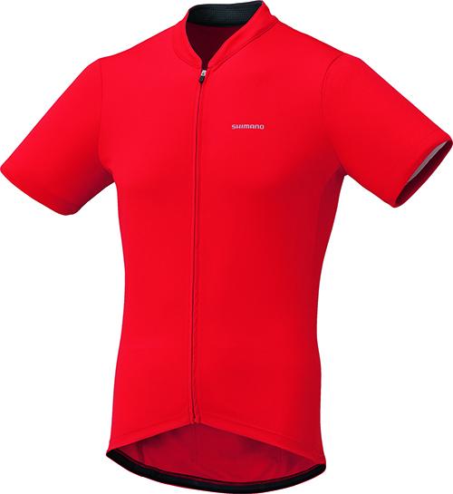 Shimano dres krátký rukáv, červená, M