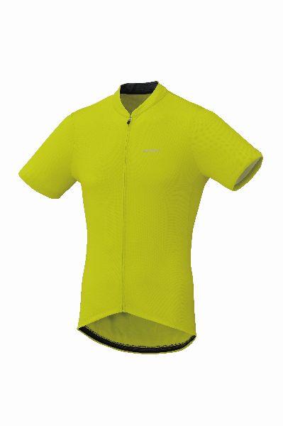 Shimano dres krátký rukáv, žlutá, M