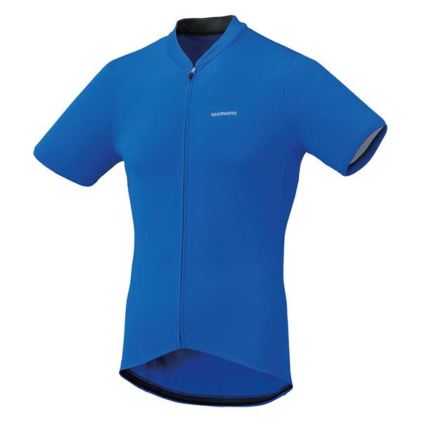 Shimano dres krátký rukáv, modrá, M