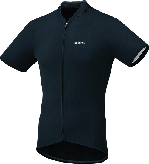 Shimano dres krátký rukáv, černá, XXL