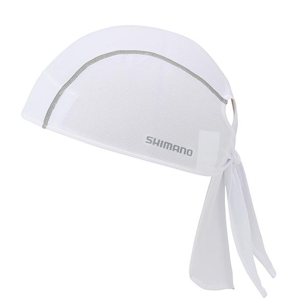 SHIMANO Basic šátek, bílá, jedna velikost