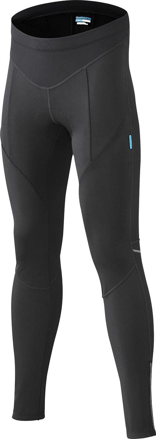 Shimano Performance Windbreak kalhoty, černá, L