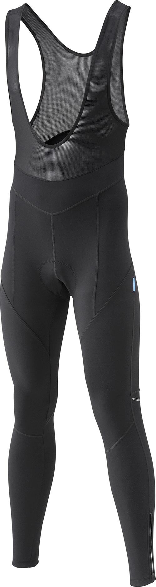 SHIMANO Performance Winter kalhoty s laclem, černá, M
