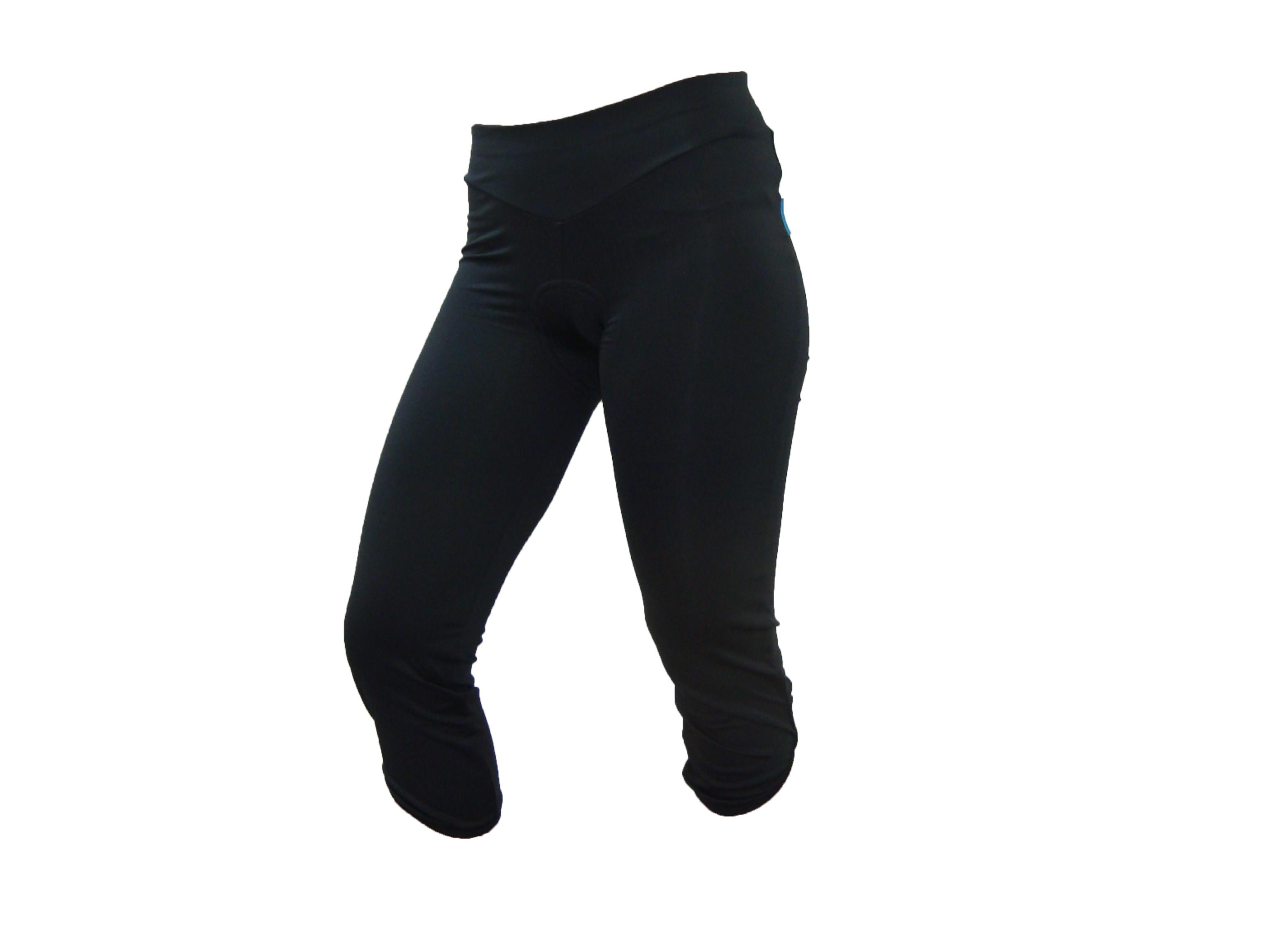 Shimano dámské 3/4 kalhoty, černá, S