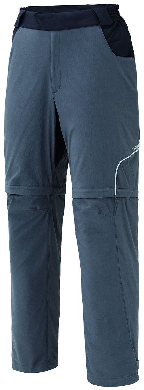 SHIMANO Touring kalhoty, charcoal, M