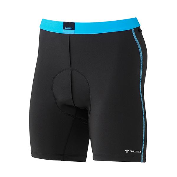 Shimano kraťasy - cyklistická vložka, pánské, černá, M