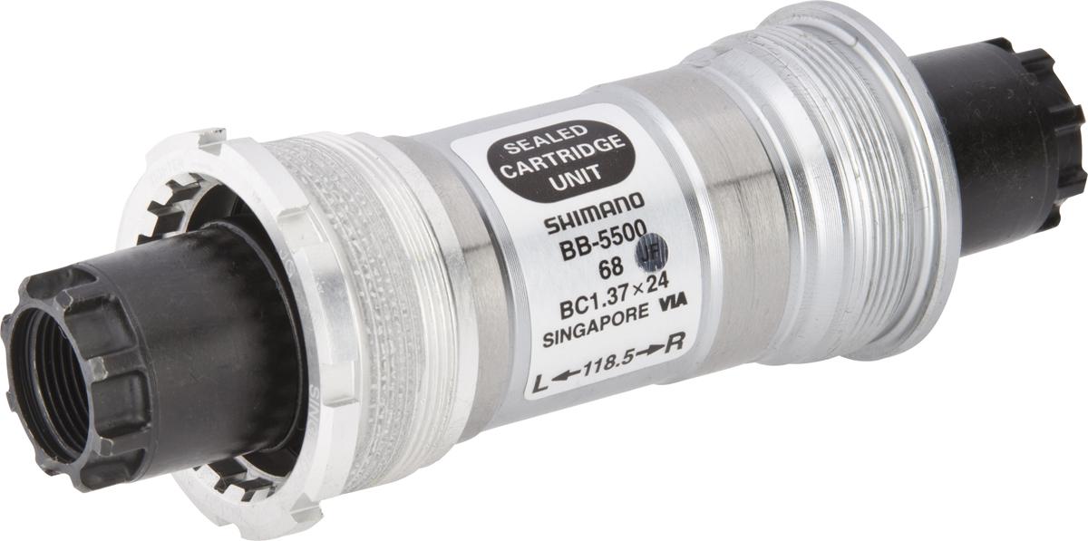 Shimano středové složení 105 BB-5500 osa octalink 68 mm 118,5 mm BSA