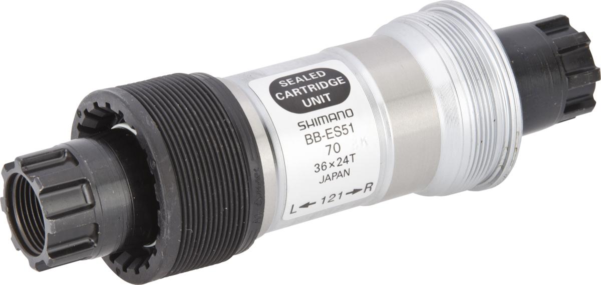 SHIMANO středové složení DEORE BB-ES51 osa octalink 70 mm 121 mm ITA