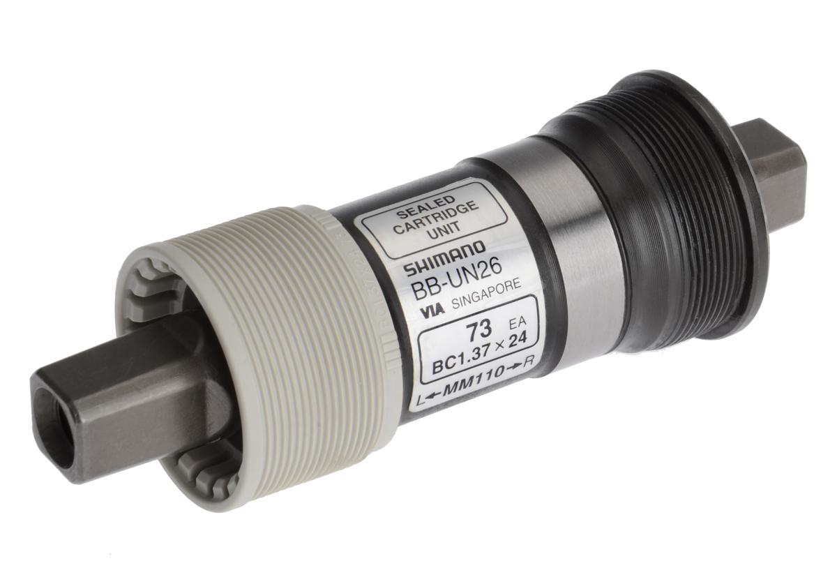 SHIMANO středové složení ALIVIO BB-UN26 osa 4hran 73 mm 110 mm BSA