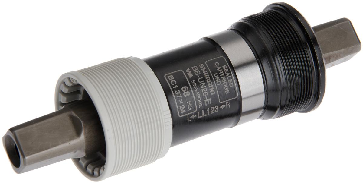 SHIMANO středové složení ALIVIO BB-UN26 osa 4hran 68 mm 122,5 mm BSA