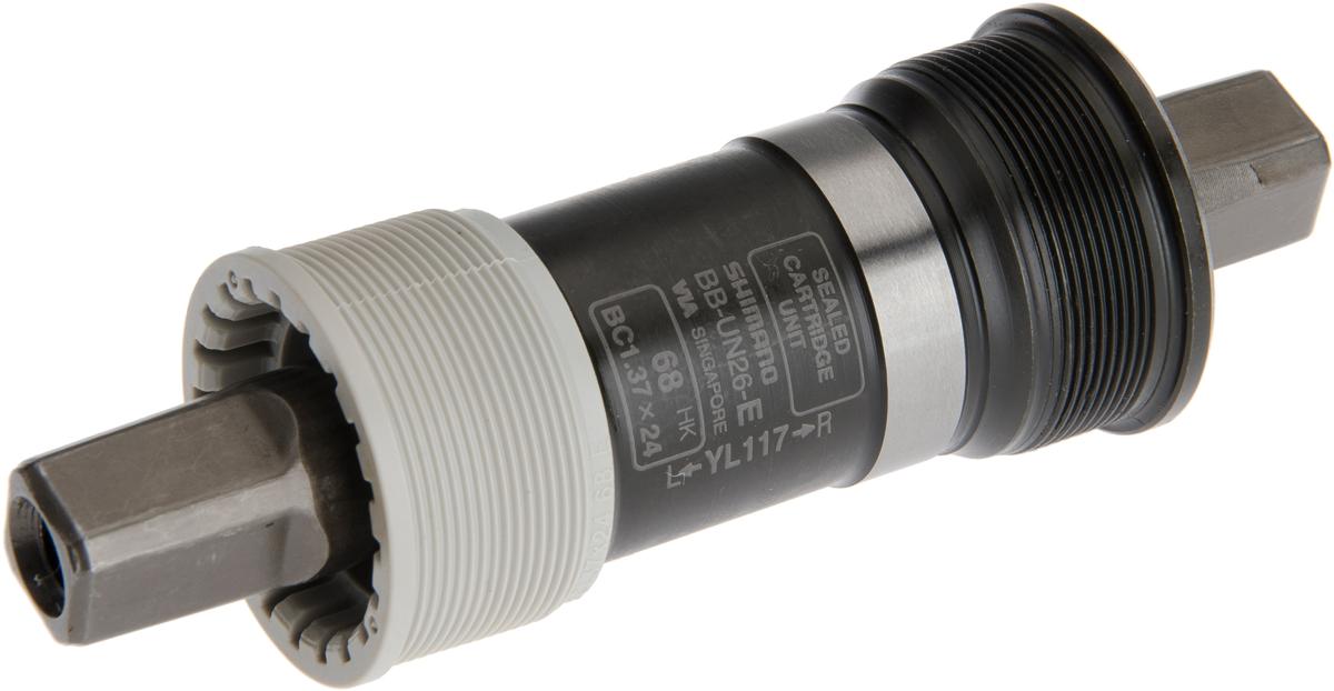 SHIMANO středové složení ALIVIO BB-UN26 osa 4hran 68 mm 117 mm BSA