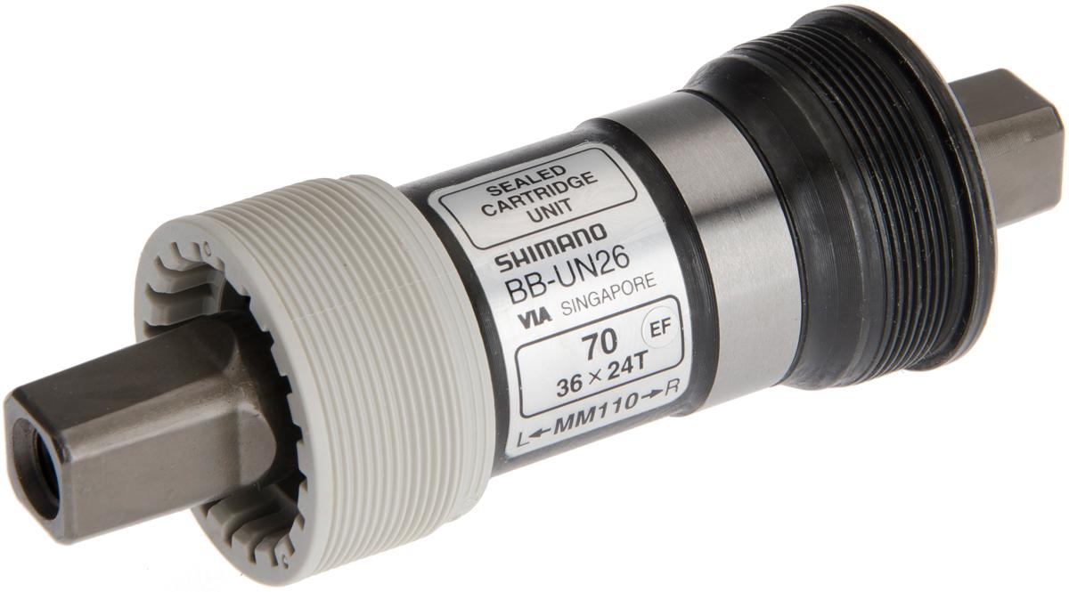 SHIMANO středové složení ALIVIO BB-UN26 osa 4hran 70 mm 110 mm ITA