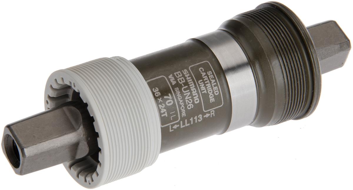 SHIMANO středové složení ALIVIO BB-UN26 osa 4hran 70 mm 113 mm ITA