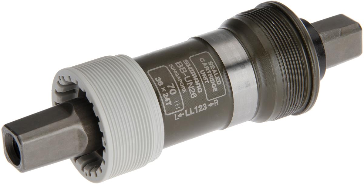 SHIMANO středové složení ALIVIO BB-UN26 osa 4hran 70 mm 122,5 mm ITA