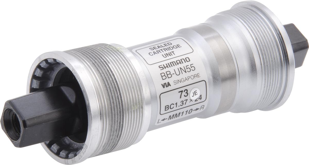 SHIMANO středové složení LX BB-UN55 osa 4hran 73 mm 110 mm BSA