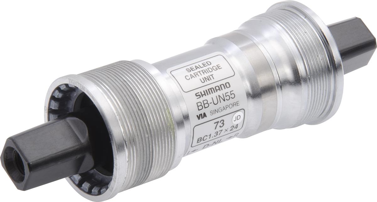SHIMANO středové složení LX BB-UN55 osa 4hran 73 mm 122,5 mm BSA