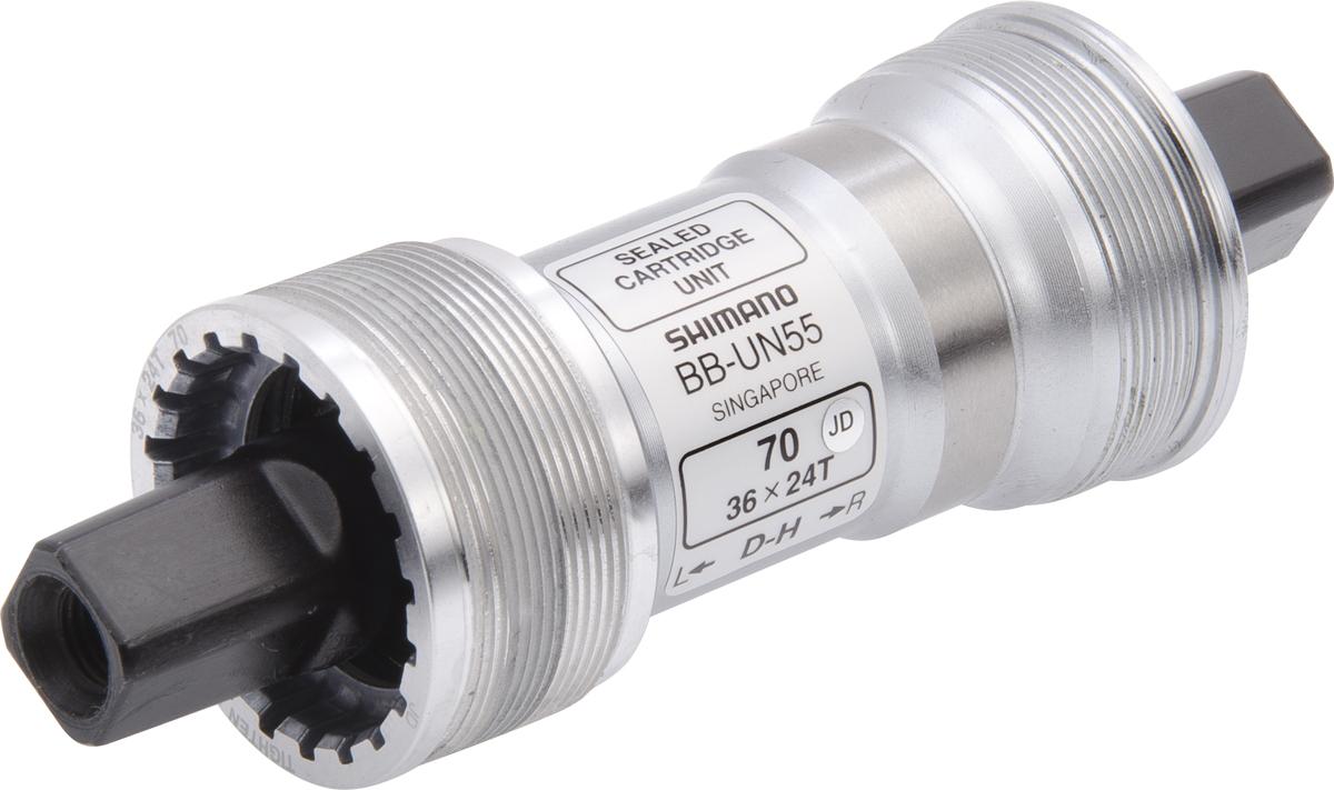 SHIMANO středové složení LX BB-UN55 osa 4hran 70 mm 115 mm ITA