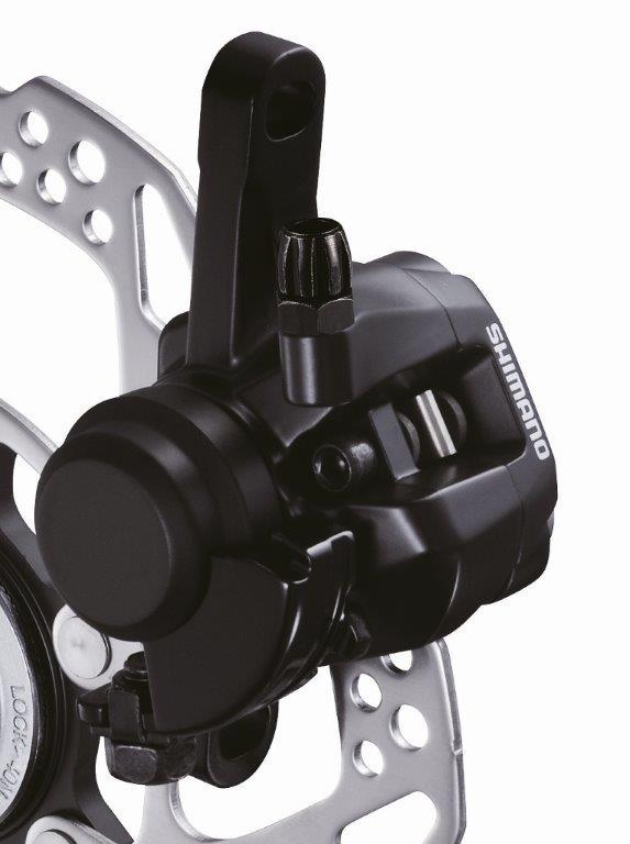 SHIMANO brzda SORA BR-R317 kotouč zadní mech třmen polymer Ad: R160PS černá