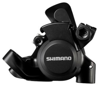 SHIMANO brzda Sil-ostatní BR-RS305 kotouč zadní mech třmen polymer + chladič bez adapt černá